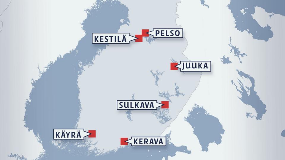 Avovankilat Suomessa
