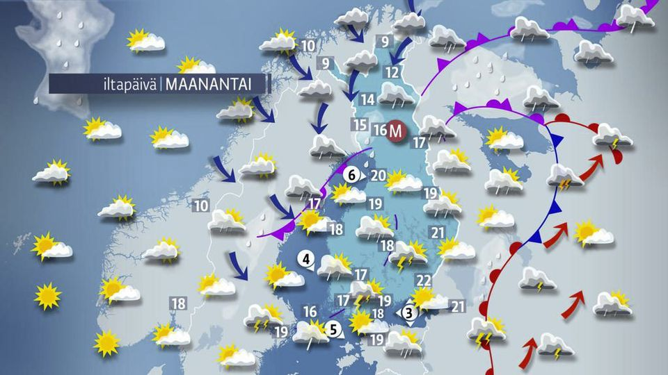 Sää kylmenee - luvassa yöpakkasia | Yle Uutiset | yle.fi