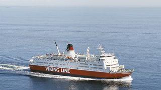 Viking Rosella merellä.