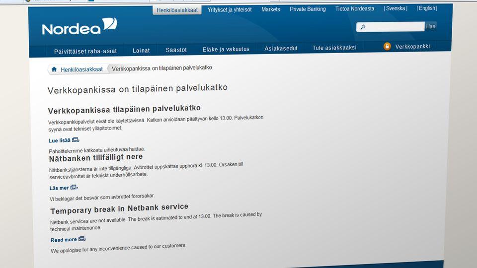 Nordea Online Banking