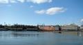 Suunniteltu alue, johon Helsingin Guggenheim-museo rakennettaisiin. Näkymä Katajanokalta päin.