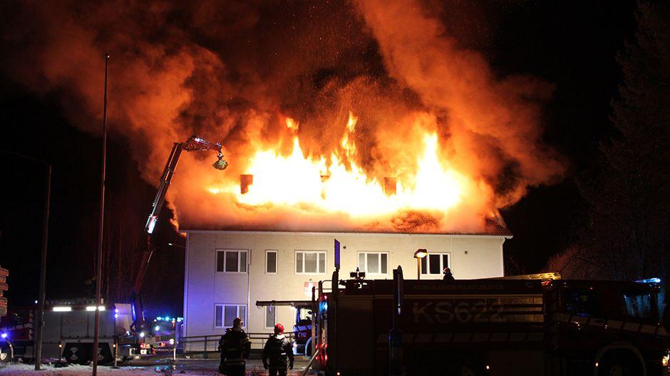 Tulipalo Kirkkonummi