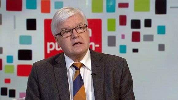 Juhani Eskola Ylen aamu-tv:n vieraana 15. maaliskuuta 2014.