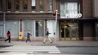 Keskon pääkonttori Helsingin Katajanokalla.