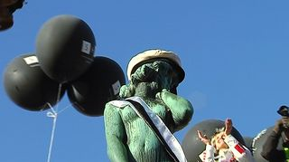 Video: Havis Amandan patsas oli aikansa kohuteos, jota pidettiin riettaana.