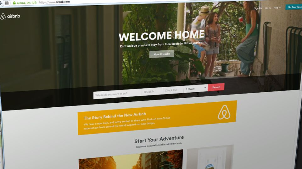 It s official uber and airbnb providers will have to for Airbnb how to pay