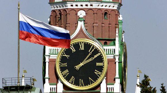 Kremlin Spasskayan torni.