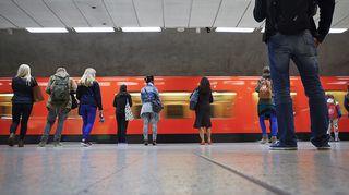 Kampin metroasema Helsingissä 22. syyskuuta 2014.