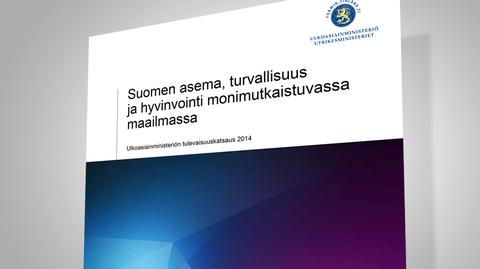 Kuvakaappaus ulkoasiainministeriön tulevaisuuskatsaus 2014 -julkaisusta.