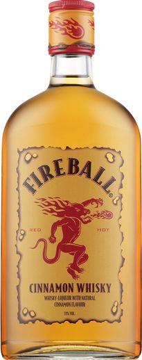 Fireball-likööripullo