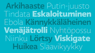 Äänestä vuoden 2014 sanaa.