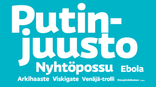 Ylen lukijat valitsivat Putin-juuston vuoden sanaksi.
