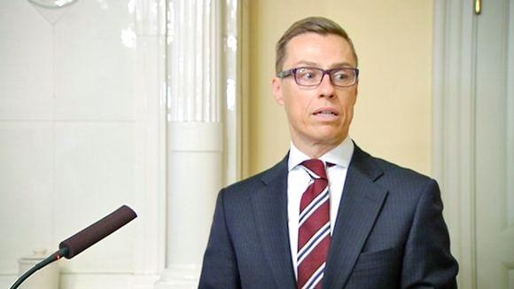 Video: Alexander Stubb tiedotustilaisuudessa maanantaiaamuna 26. tammikuuta.