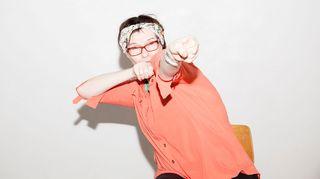 Anna Hyyppä Parkinson-tanssikurssilla.