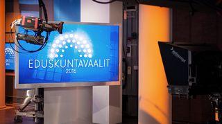 Eduskuntavaalit 2015 tuloslähetys.