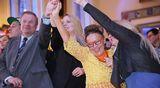 Perussuomalaisten eduskuntavaalien vaalivalvojaisia vietetään Bottalla Helsingissä.