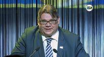 Video: Timo Soini perussuomalaisten vaalivalvojaisissa.