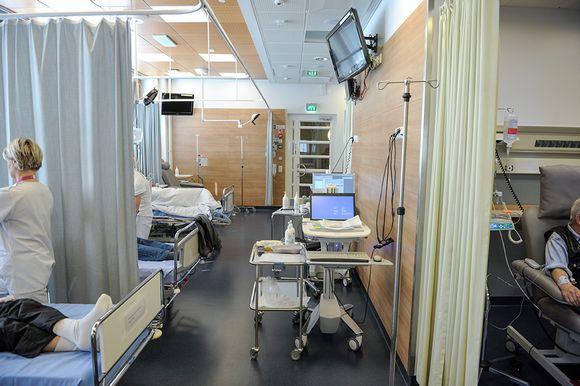 Sairaalanäkymä.