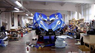 Toroidion -sähköautoa kehitetään Suomessa.