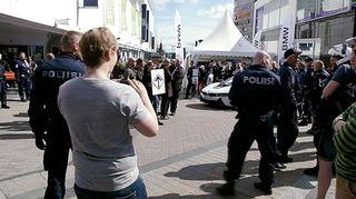 Mielenosoitus Jyväskylässä.