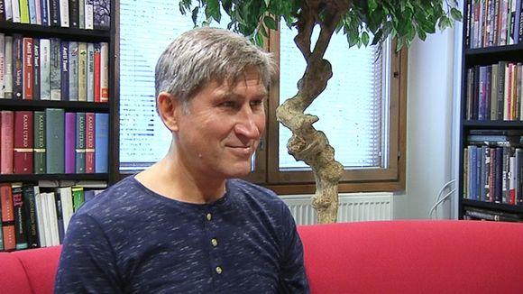 Karjalan tasavallan oppositiojohtaja Vasili Popov.