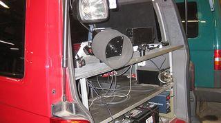 Automaattivalvonta-auto kätkee sisäänsä perinteisen peltipoliisin, eli tolppakameran laitteiston.