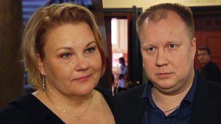 Heidi Koivisto ja Antti Salonen.