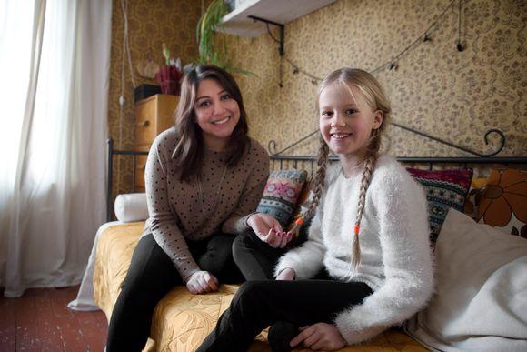 Video: Irakilainen Sahar ja Tinka Andersson
