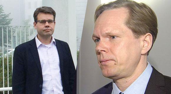 Juha Lavapuro ja Tuomas Ojanen.