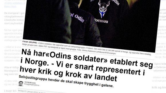 Kuvakaappaus Dagbladetin sivusta.