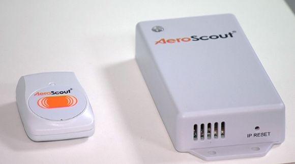 AeroScout -seurantalaite.