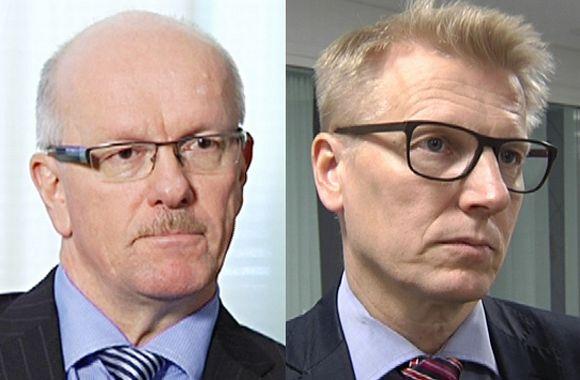 Juha Tuovinen ja Kimmo Tiilikainen