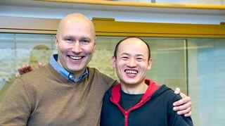Mika Koskinen ja Liutao Gao.