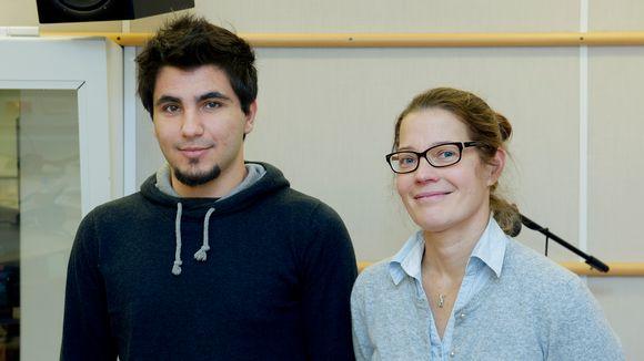 Shadi Hatem ja Mirja Tarnanen.