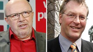 Jouko Ahonen ja Petri Vanhala