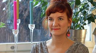 Historioitsija Sandra Hagman.
