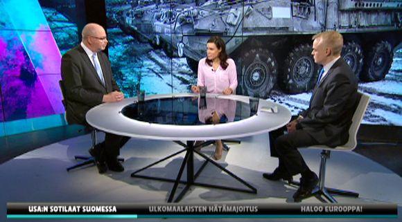 Eero Heinäluoma, Susanne Päivärinta ja Timo Heinänen.