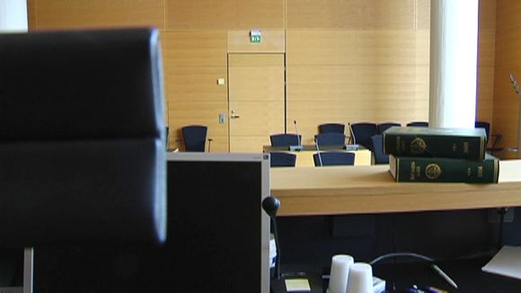 Hovioikeuden istuntosali