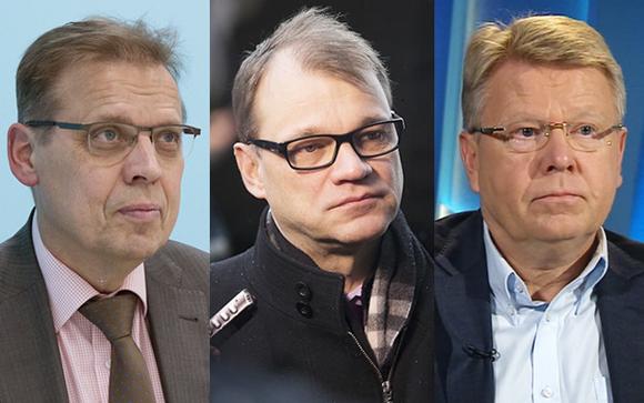 Lauri Lyly, Juha Sipilä ja Jyri Häkämies