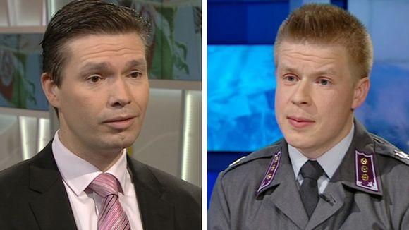 Charly Salonius-Pasternak ja Antti Paronen.