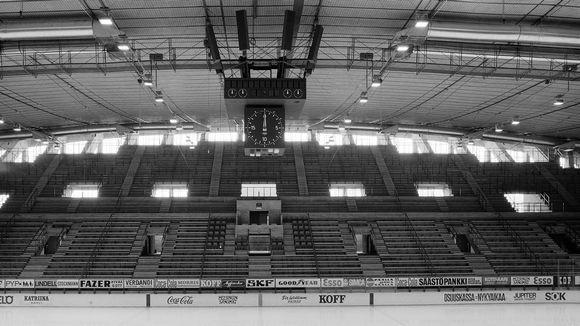 Helsingin jäähalli vuonna 1967.