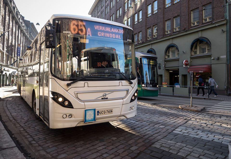 Rauma Helsinki Bussi