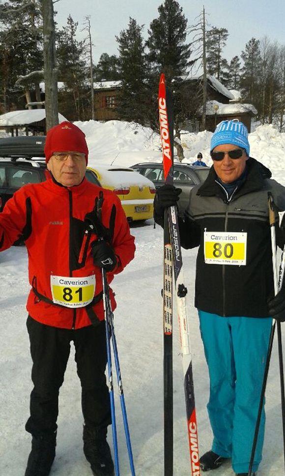 Erkki Liikanen ja Christian Noyer.