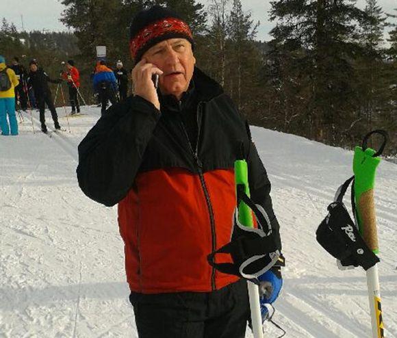 SRV:n hallituksen puheenjohtaja Ilpo Kokkila.