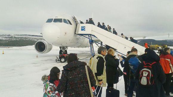 Ivalon lentokenttä.
