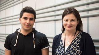 Kristiina Kokko ja Shadi Hatem