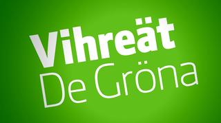 Vihreät puolueen logo.