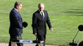 Video: Vladimir Putin ja Sauli Niinistö tiedotustilaisuudessa Kultarannassa perjantaina.