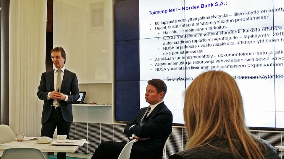 Nordea: Panama-yhtiöiden joukossa yksi suomalainen asiakas | Yle Uutiset | yle.fi