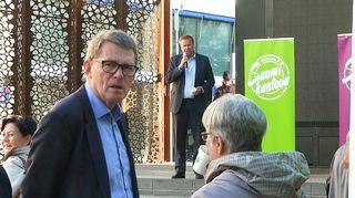 Matti Vanhanen ja Antti Kaikkonen.